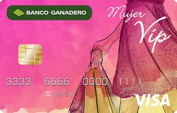tarjeta mujer vip
