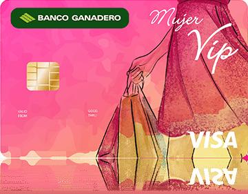 Tarjeta de Crédito Mujer VIP